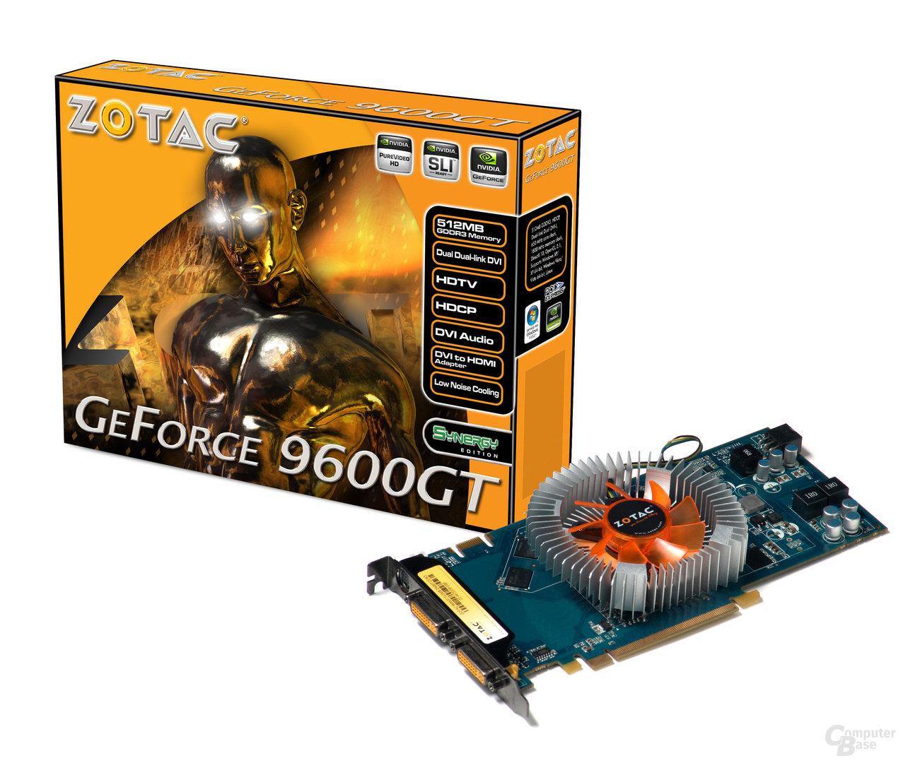 Zotac GeForce Synergy 9600 GT