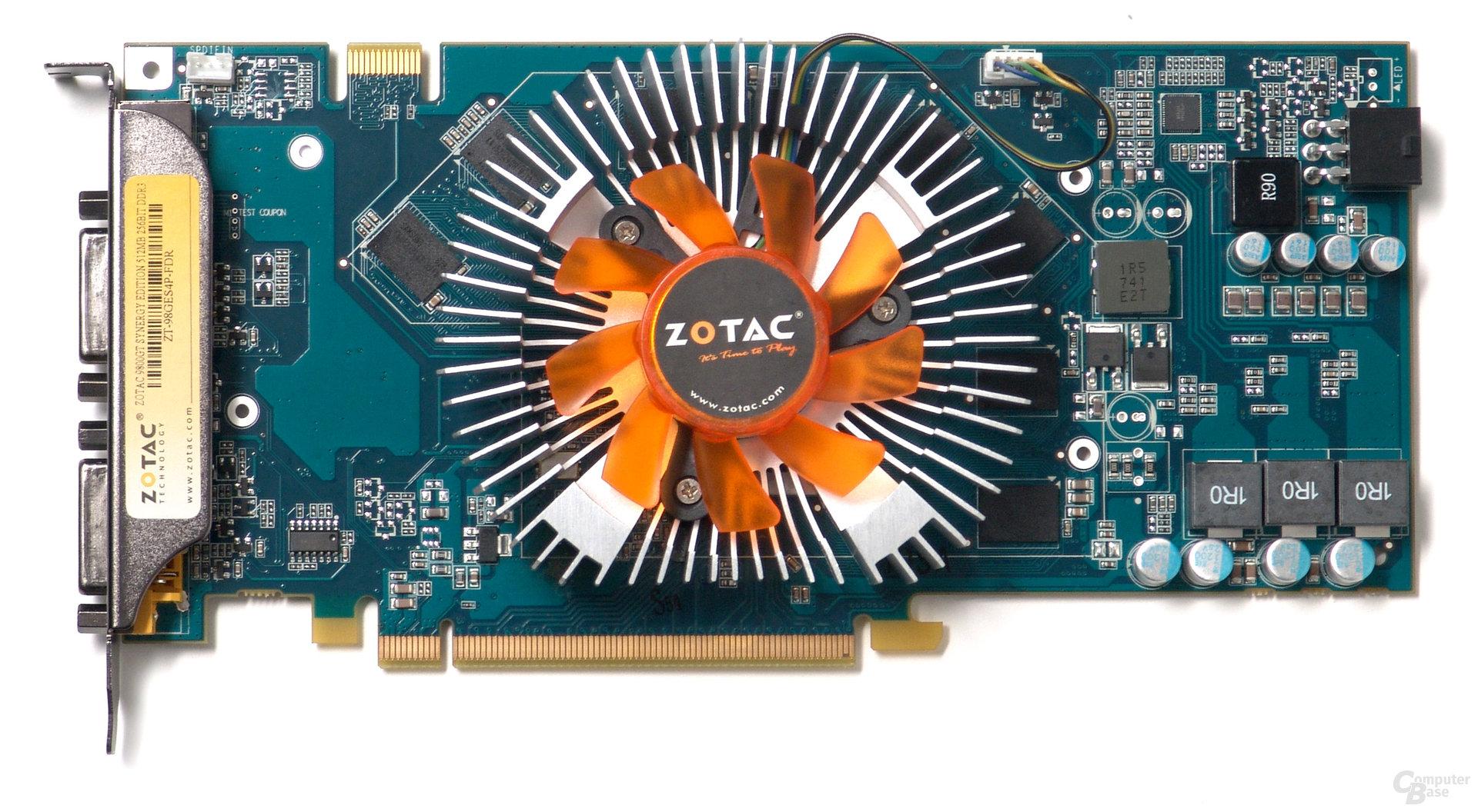 Zotac GeForce Synergy 9800 GT