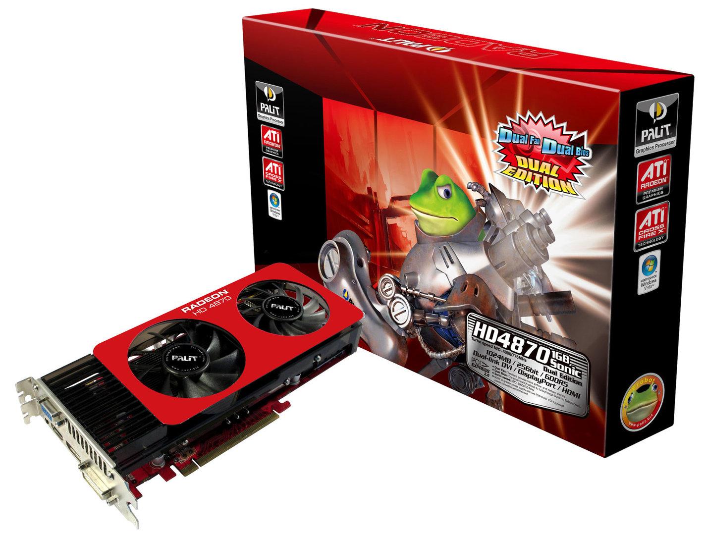 Palit Radeon HD 4870 1GB Sonic Dual Edition