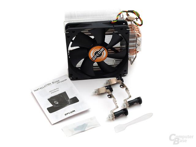 2PCOM PS1264U Prozessorkühler Lieferumfang