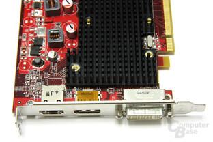 Radeon HD 4550 Anschlüsse