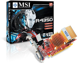 MSI Radeon HD 4350