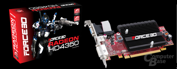Force3D Radeon HD 4350