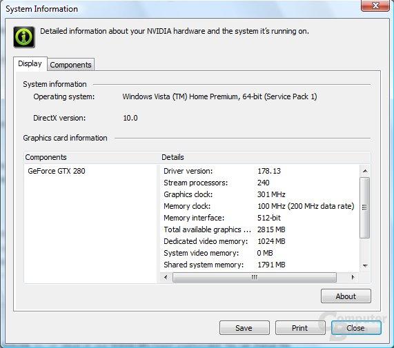 Nvidia GeForce 178.13