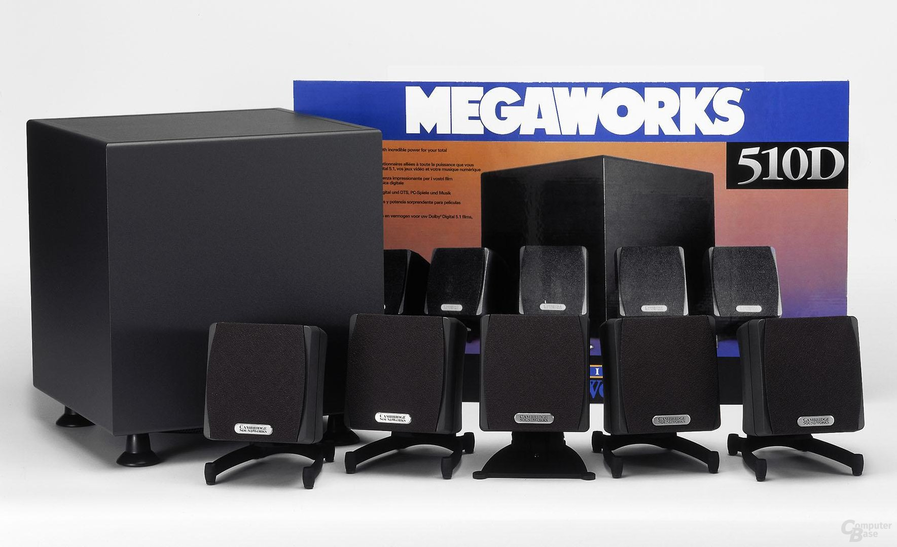 Mega Works 510D