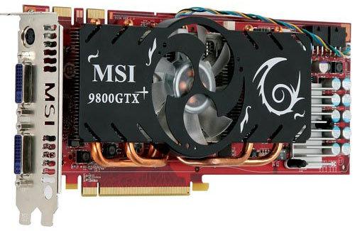 MSI GeForce 9800 GTX+