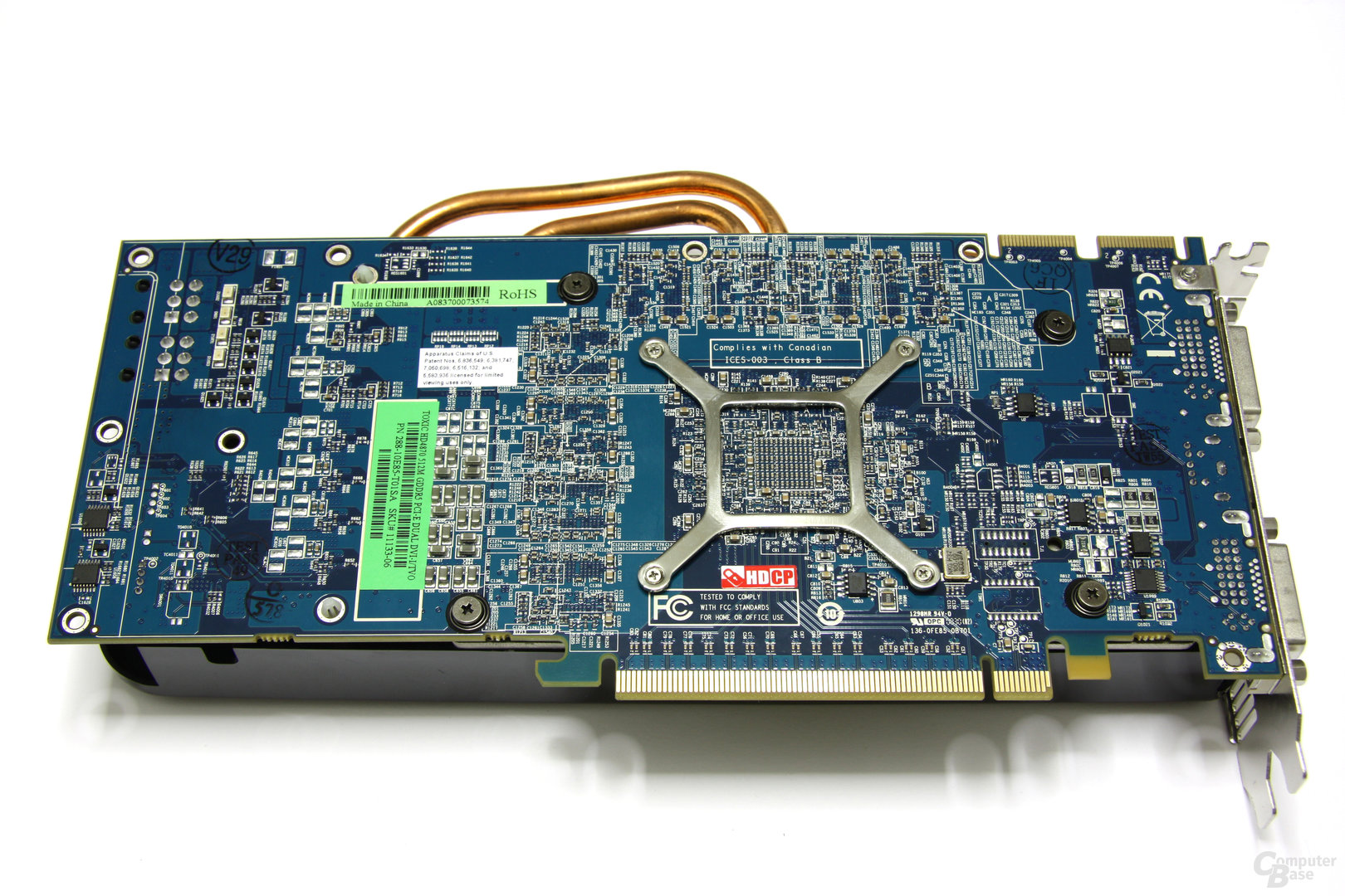 Radeon HD 4870 Toxic Rückseite