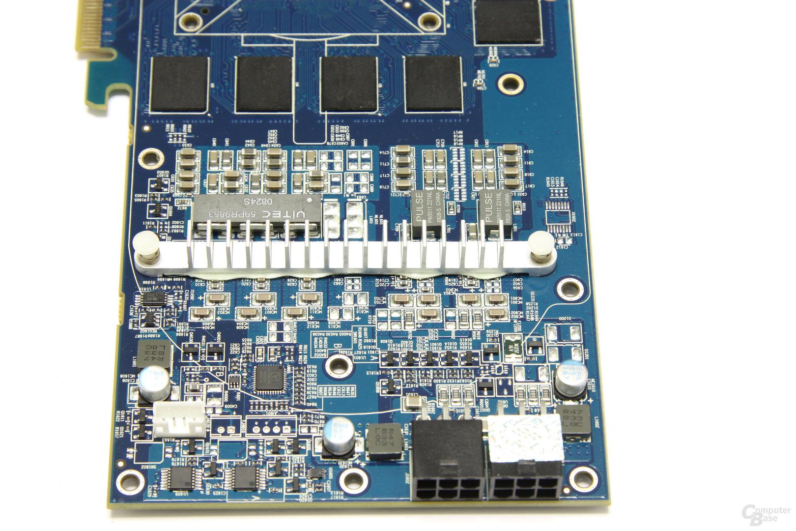 Radeon HD 4870 Toxic Spannungswandler