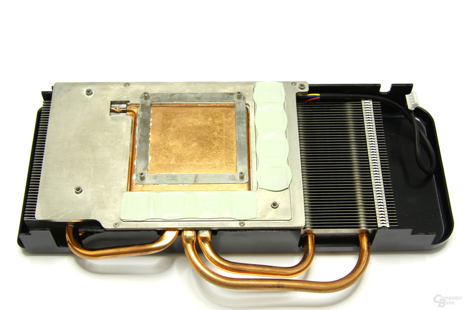 Radeon HD 4870 Toxic Kühlerrückseite