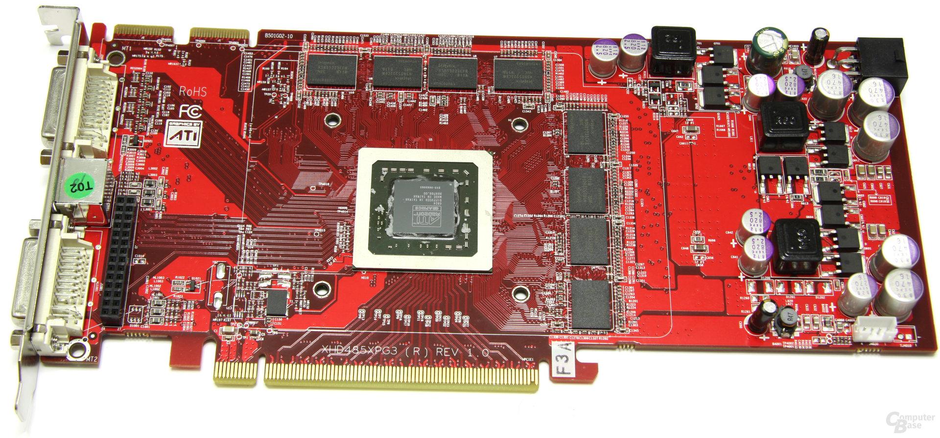 Radeon HD 4850 OC ohne Kühler