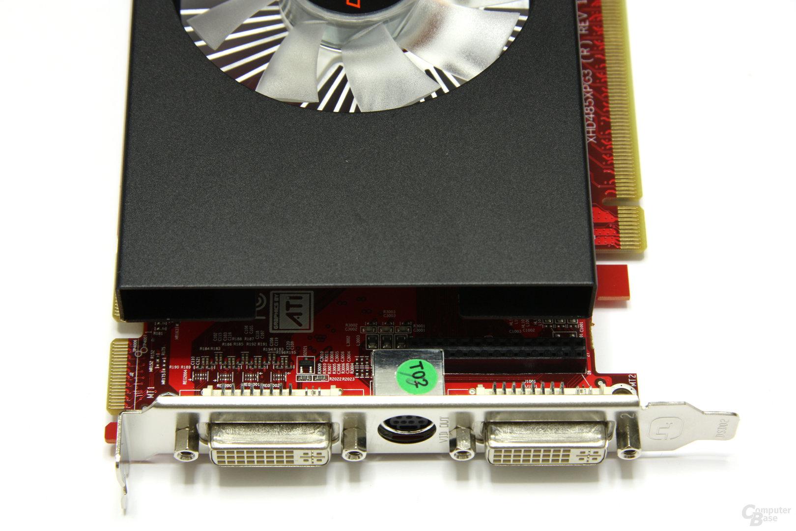 Radeon HD 4850 OC Anschlüsse
