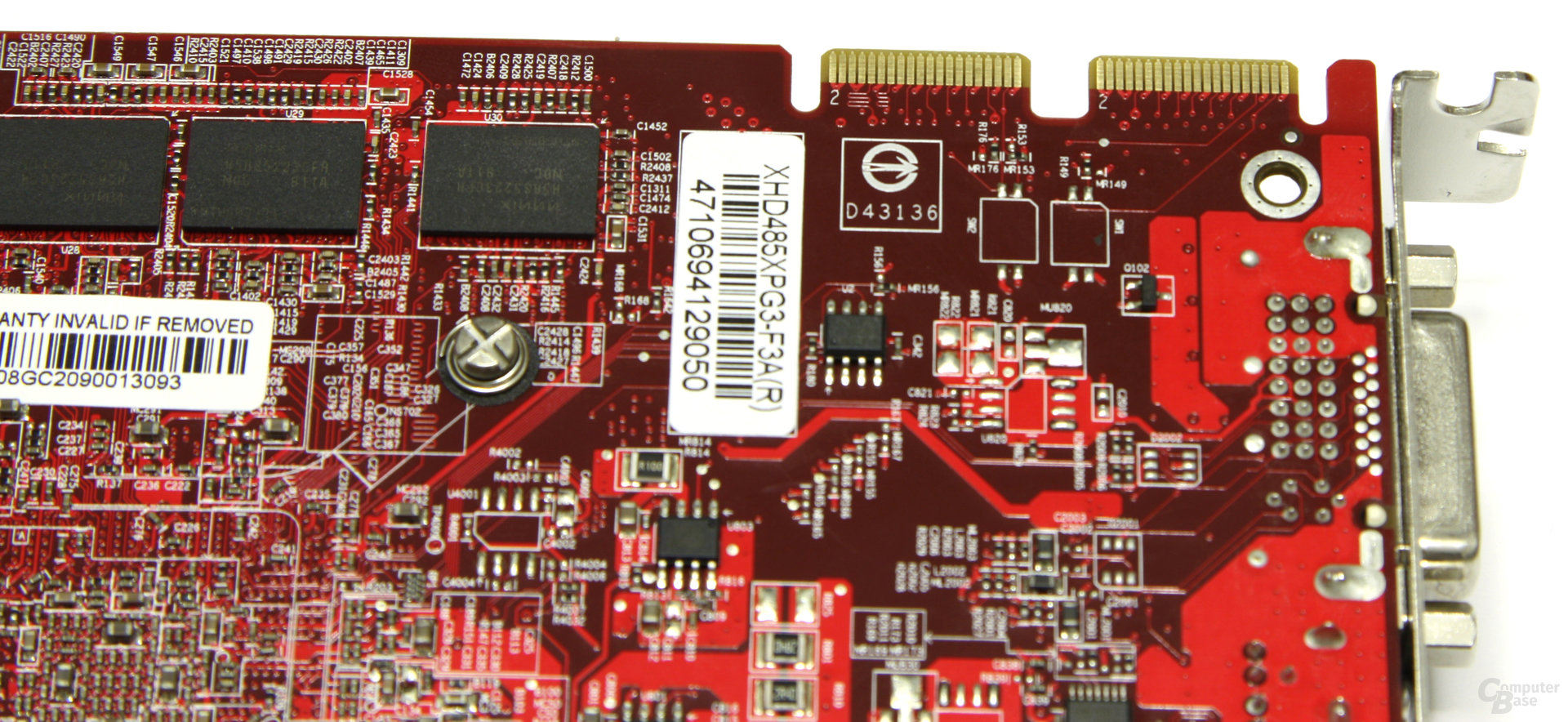 Radeon HD 4850 OC CF-Anschlüsse