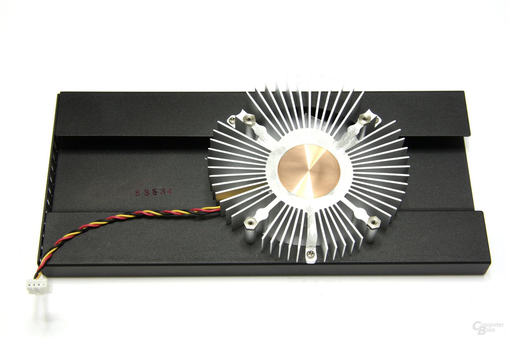 Radeon HD 4850 OC Kühlerrückseite