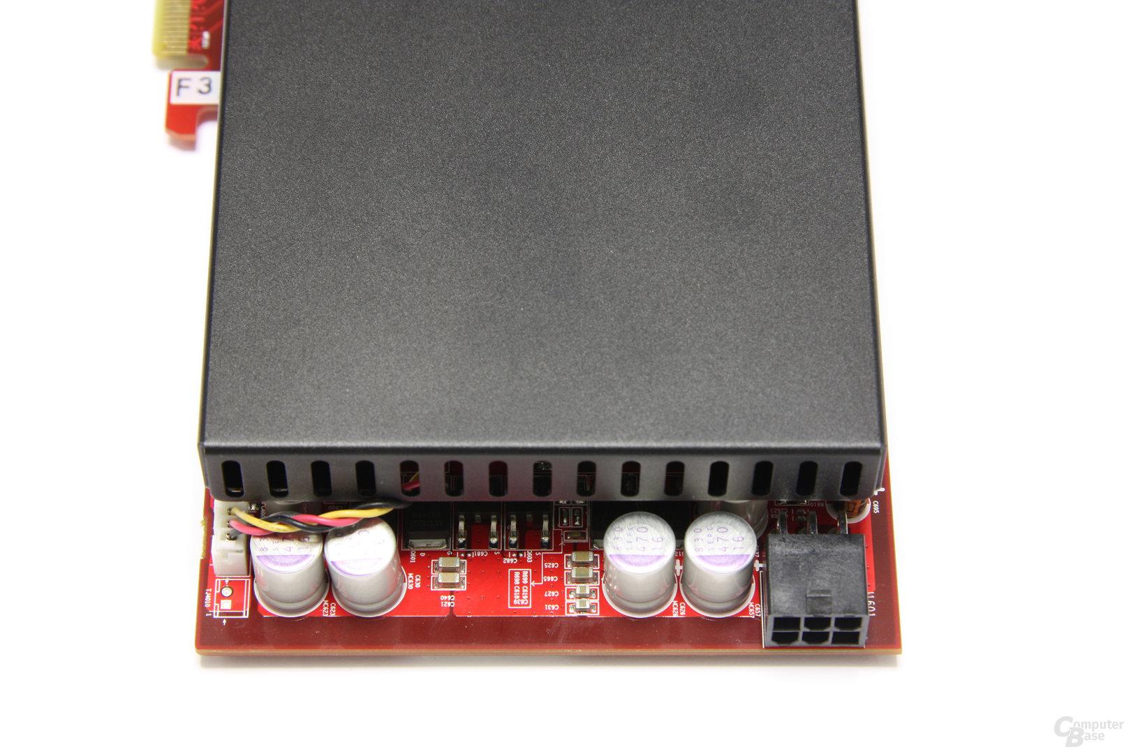 Radeon HD 4850 OC Stromanschluss
