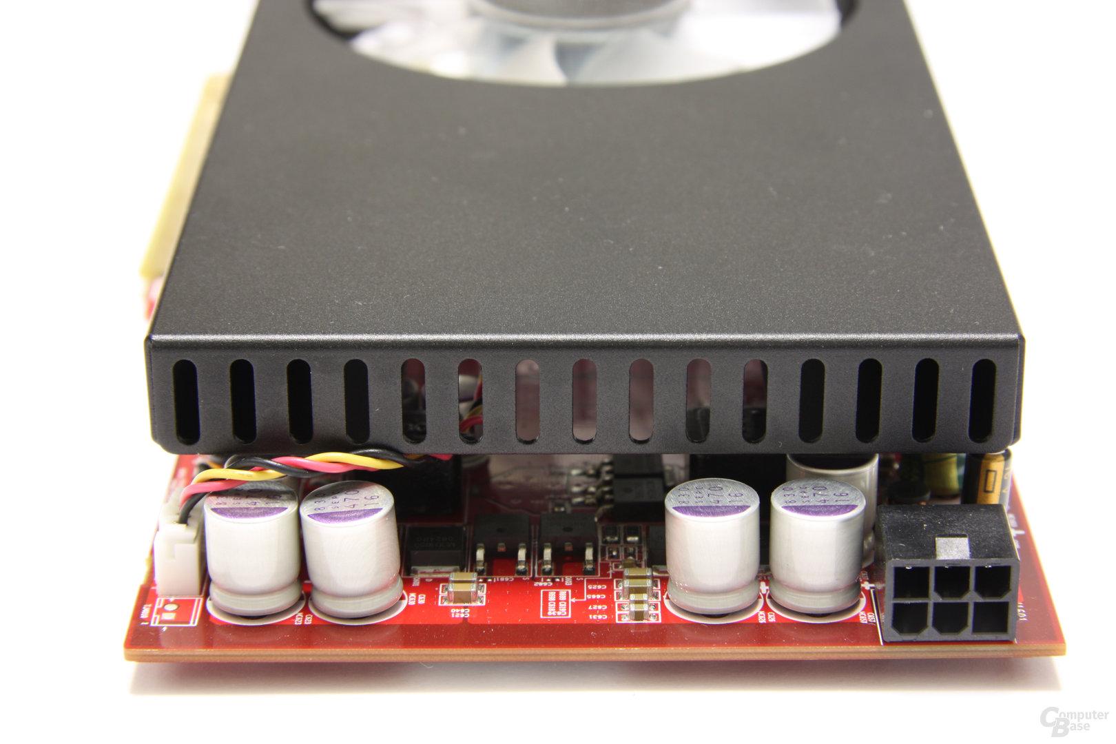 Radeon HD 4850 OC von hinten