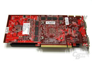 Radeon HD 4850 OC Rückseite