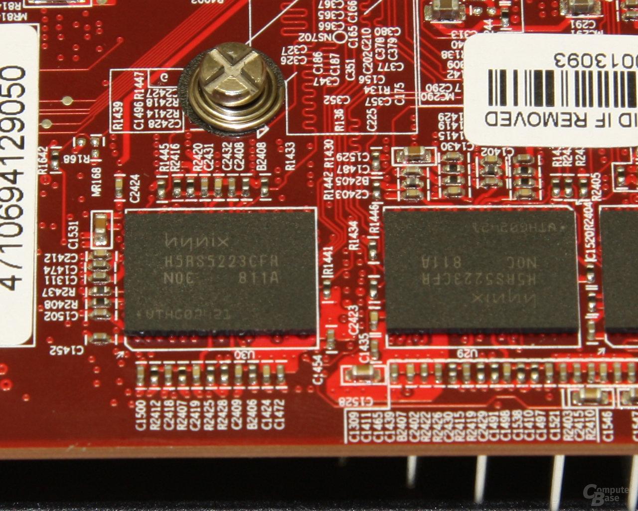 Radeon HD 4850 OC Speicher