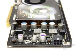 GeForce 9600 GSO 680M XXX von hinten