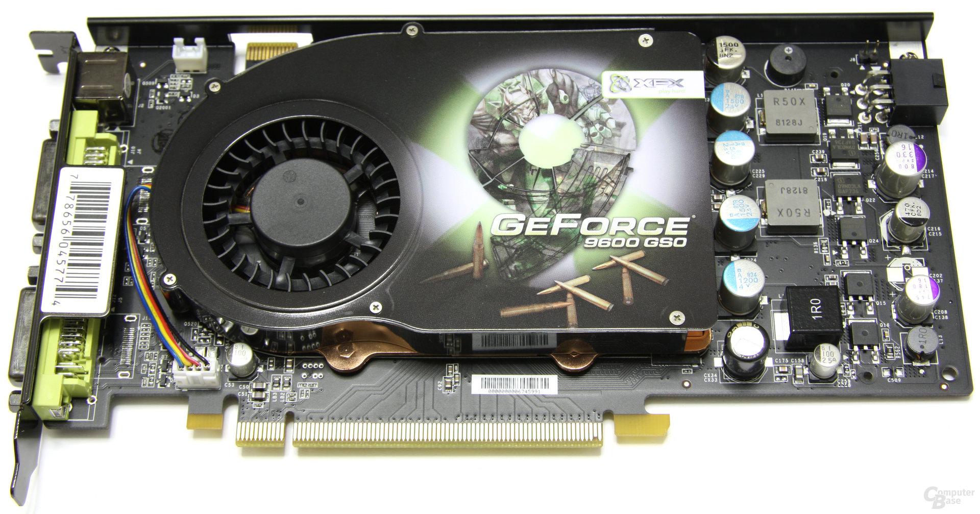 XFX GeForce 9600 GSO 680M XXX