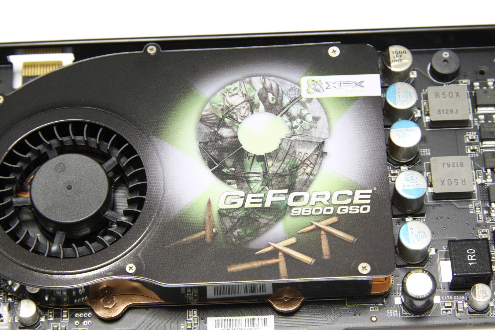 GeForce 9600 GSO 680M XXX Logo