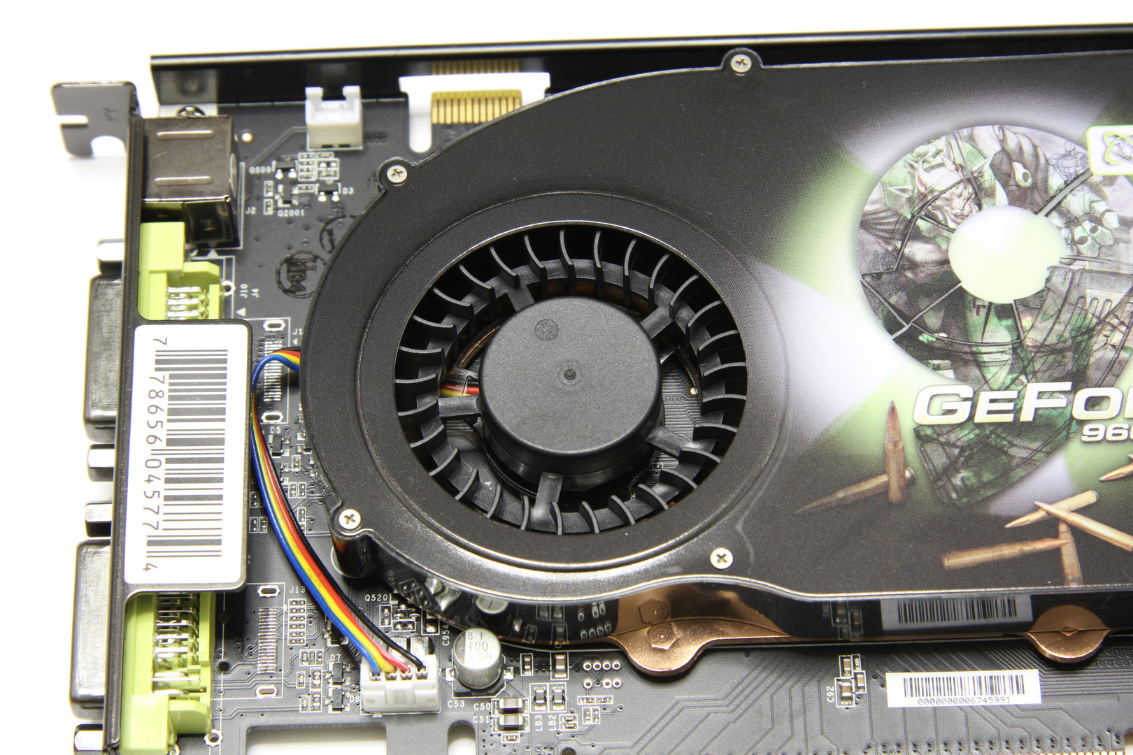 GeForce 9600 GSO 680M XXX Lüfter