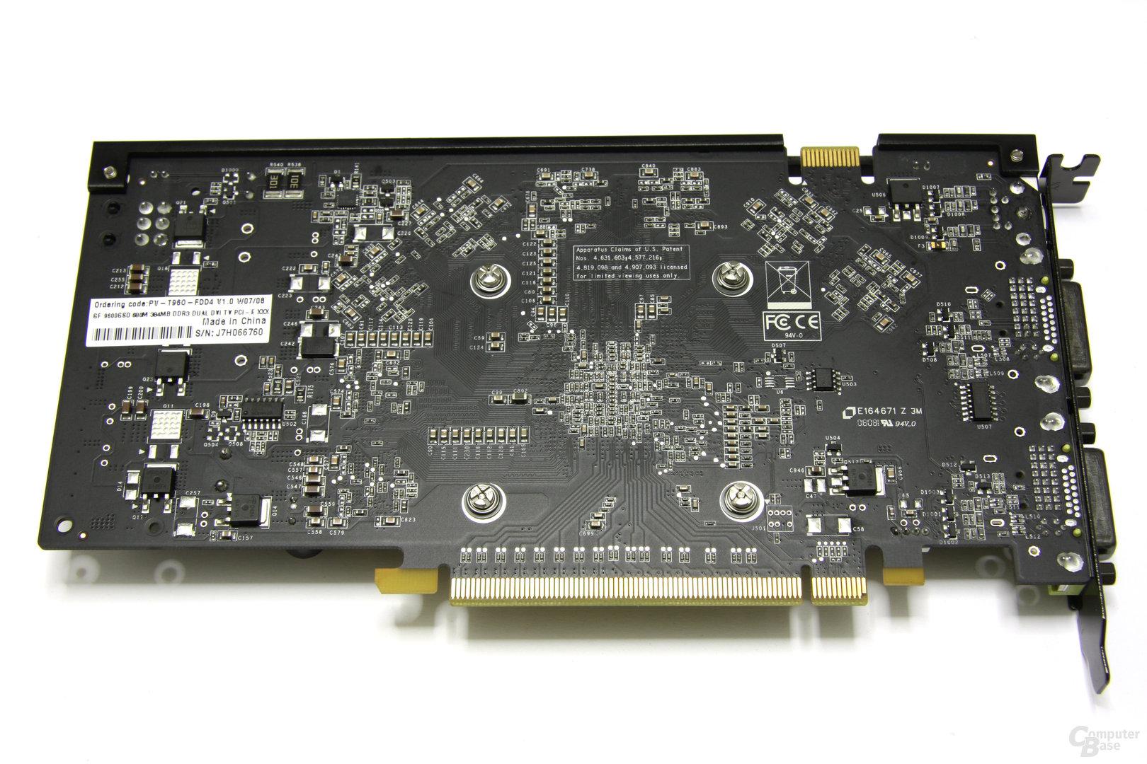 GeForce 9600 GSO 680M XXX Rückseite