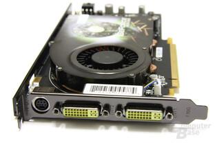 GeForce 9600 GSO 680M XXX Slotblech