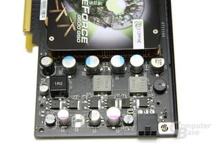 GeForce 9600 GSO 680M XXX Spannungswandler