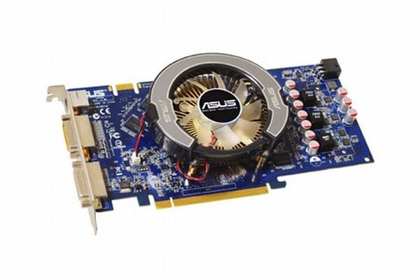 Asus GeForce 9600 GT mit GDDR2-Speicher