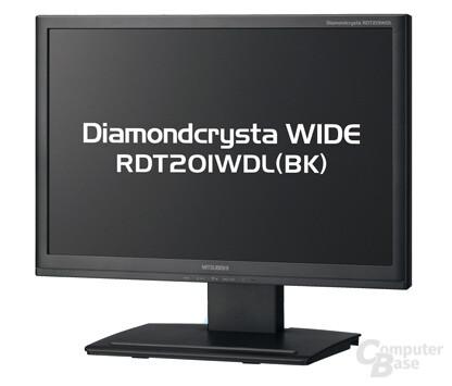 Mitsubishi RDT201WDL mit DisplayLink-Technologie