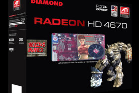 Diamond Radeon HD 4670 1.024 MB
