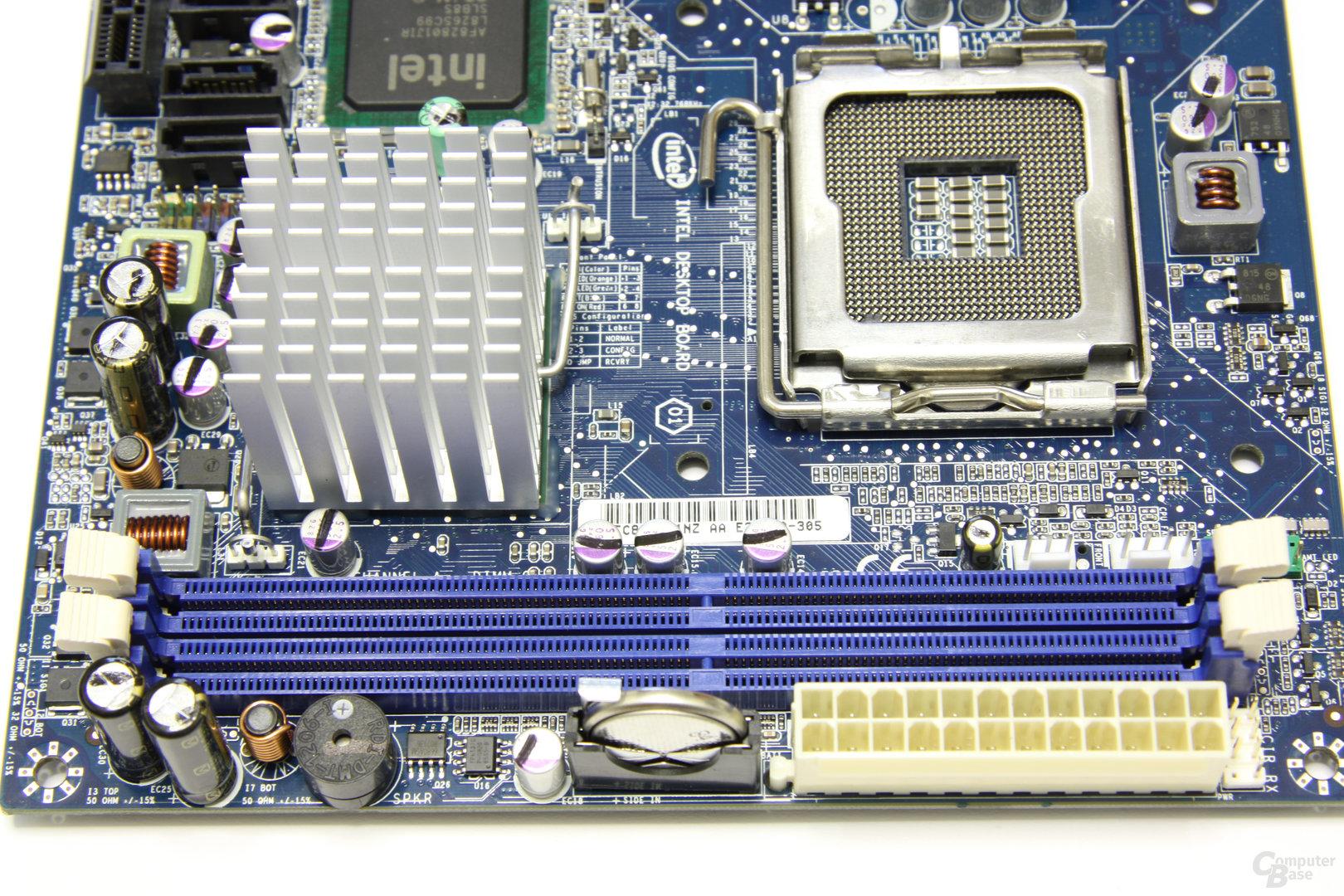 Intel GD45FC RAM-Slots