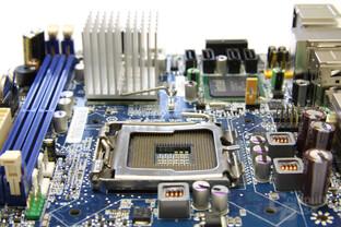 Intel GD45FC Schrägansicht