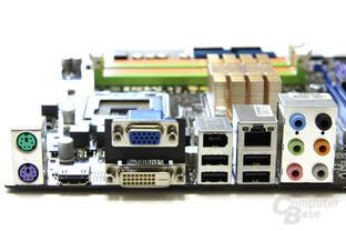 MSI P7NGM-Digital Anschlüsse
