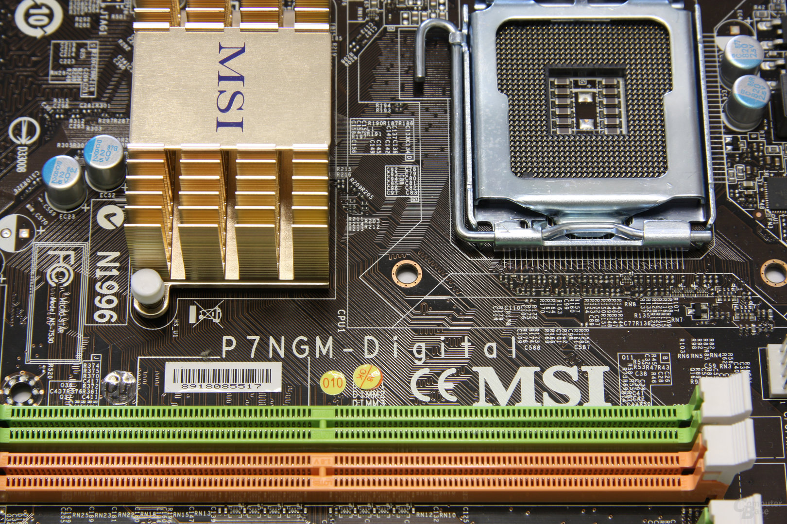 MSI P7NGM-Digital Aufschrift