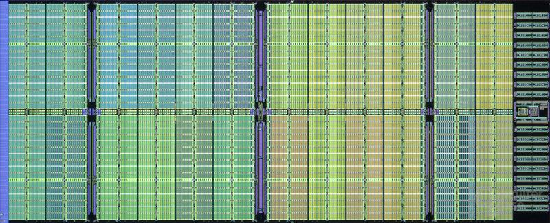 32-nm-SRAM-Testchip mit High-K/Metal Gate und SOI von IBM