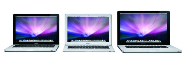 MacBook-Familie in der Übersicht