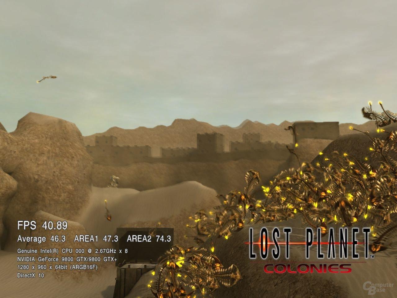 Lost Planet Colonies auf einem i7-920