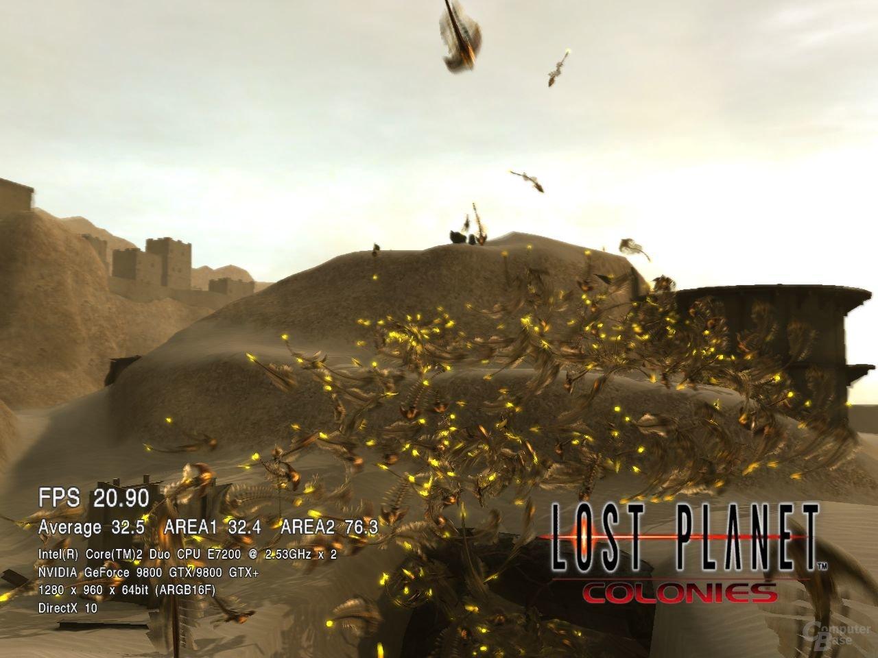 Lost Planet Colonies auf einem E7200