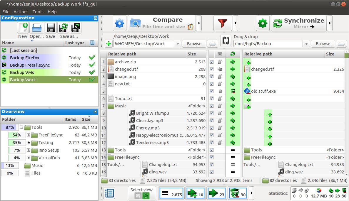FreeFileSync – Ubuntu