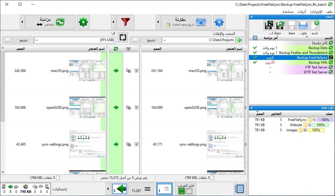 FreeFileSync – Flexible