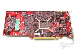 Radeon HD 4830 Rückseite