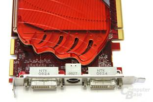 Radeon HD 4830 Anschlüsse