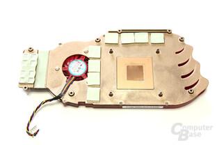 Radeon HD 4830 Kühlerrückseite