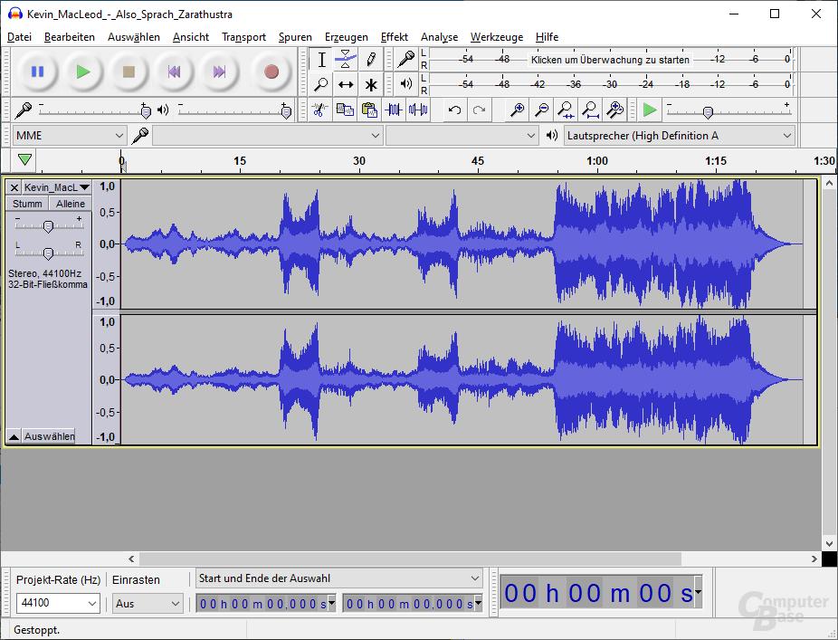 Audacity - Classic Theme