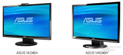 """Asus' neue 24""""-Monitore"""