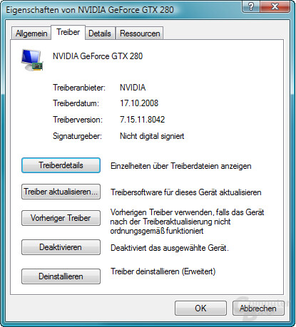 Nvidia GeForce 180.42