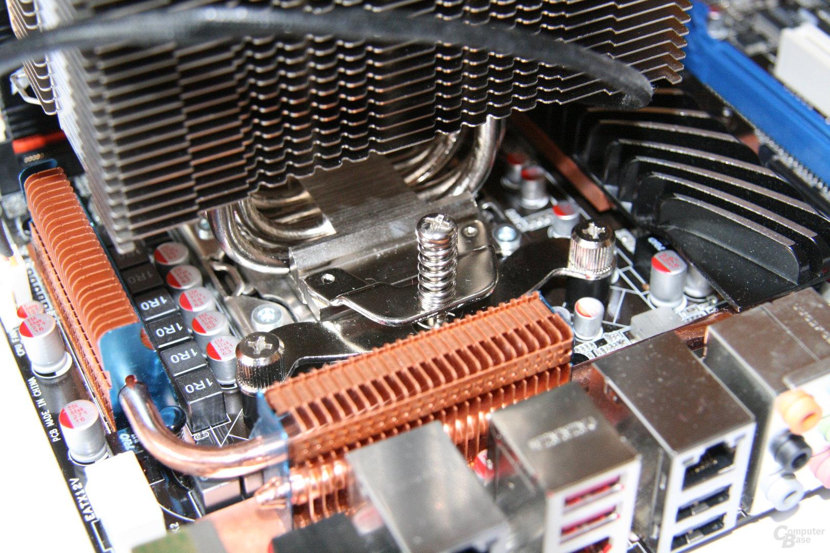 Noctuas Mountig Kit für Sockel LGA 1366