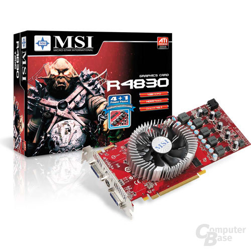 MSI Radeon HD 4830 mit 1.024-MB-Speicher