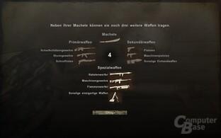 """Überblick über das Waffenarsenal von """"Far Cry 2"""""""